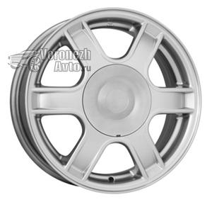 КиК KC576 5,5*14 4/100 ET43 d60,1 silver