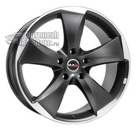 MAK Raptor5 8,5*19 5/120 ET20 d72,6 Graphite-Mirror Face