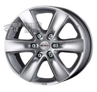 MAK Sierra 7*16 6/139,7 ET50 d93,1 Hyper silver