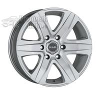 MAK Stone 6 W 6,5*16 6/130 ET62 d84,1 silver