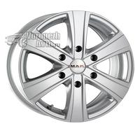 MAK Van6 6,5*16 6/139,7 ET20 d106,1 silver