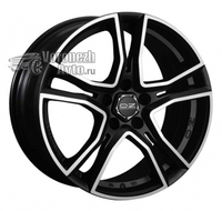 OZ Racing Adrenalina 8*18 5/112 ET48 d75 Matt Black Diamond Cut