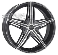 OZ Racing David 8*18 5/120 ET29 d79 Matt Graphite Diamond Cut