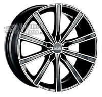 OZ Racing Lounge 10 7,5*17 5/112 ET50 d75 Matt Black Diamond Cut