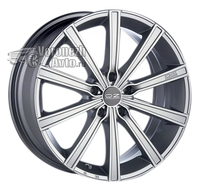 OZ Racing Lounge 10 8*18 5/110 ET38 d75 Metal Silver Diamond Cut