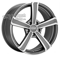 OZ Racing Montecarlo HLT 11,5*20 5/130 ET59 d71,6 Matt Dark Graphite Diamond Cut
