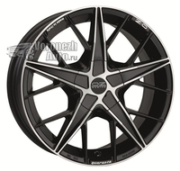 OZ Racing Quaranta 4 7*16 4/98 ET37 d68 Matt Black Diamond Cut