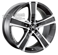 OZ Racing Sahara 5 8*17 5/114,3 ET40 d79 Matt Graphite Diamond Cut