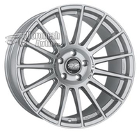 OZ Racing Superturismo Dakar 9*21 5/127 ET50 d71,6 Matt Race Silver Black Lettering