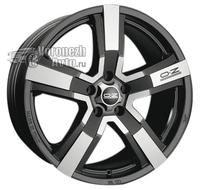 OZ Racing Versilia 8*18 5/130 ET43 d71,6 Matt Black Diamond Cut