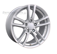 Rial X10 7*16 5/112 ET47 d66,5 Polar Silver