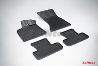 Резиновый коврик Seintex сетка для Audi Q5 2008-