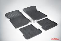 Резиновый коврик Seintex сетка для Chery AMULET 2003-2013