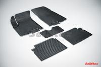 Резиновый коврик Seintex сетка для Chevrolet AVEO 2006-2011