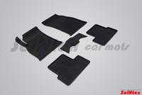Резиновый коврик Seintex сетка для Chevrolet CRUZE 2009-2015
