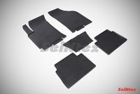 Резиновый коврик Seintex сетка для Chevrolet LACETTI 2004-2013