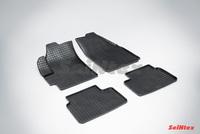 Резиновый коврик Seintex сетка для Chevrolet SPARK 2005-2010