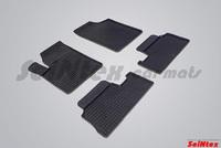 Резиновый коврик Seintex сетка для Citroёn BERLINGO 2006-2008