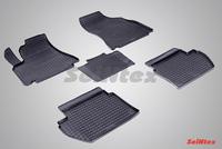 Резиновый коврик Seintex сетка для Citroёn BERLINGO II 2008-