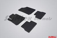 Резиновый коврик Seintex сетка для Citroёn С 3 2002-2009