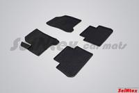 Резиновый коврик Seintex сетка для Citroёn С3 PICASSO 2009-