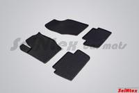 Резиновый коврик Seintex сетка для Citroёn С 4 2004-2012