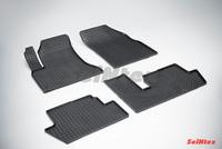 Резиновый коврик Seintex сетка для Citroёn С4 PICASSO  2007-
