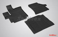 Резиновый коврик Seintex сетка для Citroёn JUMPER 2007-