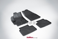 Резиновый коврик Seintex сетка для Daewoo MATIZ II 2000-