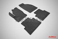 Резиновый коврик Seintex сетка для Ford C-MAX 2003-2010