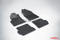 Резиновый коврик Seintex сетка для Ford FIESTA III 2001-2008