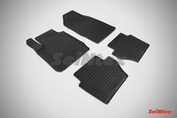 Резиновый коврик Seintex сетка для Ford FIESTA IV 2008-2015