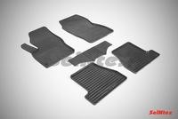 Резиновый коврик Seintex сетка для Ford FOCUS III 2011-2015