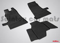 Резиновый коврик Seintex сетка для Ford TRANSIT 2006-2014