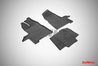 Резиновый коврик Seintex сетка для Ford TRANSIT 2014-
