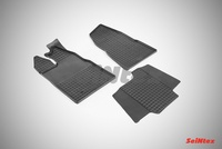 Резиновый коврик Seintex сетка для Ford TRANSIT Custom 2014-