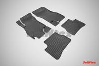 Резиновый коврик Seintex сетка для Hyundai ACCENT 2000-2012