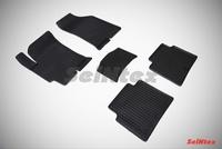 Резиновый коврик Seintex сетка для Hyundai ELANTRA (XD) Тагаз 2008-