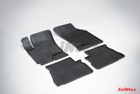 Резиновый коврик Seintex сетка для Hyundai GETZ 2002-2011