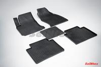 Резиновый коврик Seintex сетка для Hyundai MATRIX 2001-2010