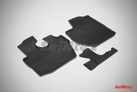 Резиновый коврик Seintex сетка для Hyundai PORTER II 2007-