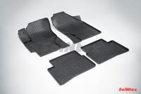 Резиновый коврик Seintex сетка для Hyundai VERNA 2006-2010