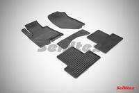 Резиновый коврик Seintex сетка для Infiniti EX35 2007-2014