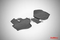 Резиновый коврик Seintex сетка для Kia BONGO III 2011-