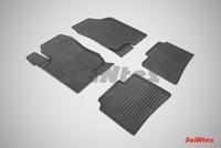 Резиновый коврик Seintex сетка для Kia MAGENTIS II (MG) 2006-2010