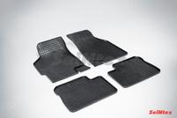 Резиновый коврик Seintex сетка для Kia SPECTRA 2006-2009