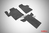 Резиновый коврик Seintex сетка для Mercedes VIANO 2010-
