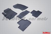 Резиновый коврик Seintex сетка для Mitsubishi ASX 2010-