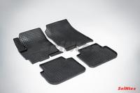 Резиновый коврик Seintex сетка для Mitsubishi COLT VI 2003-2012