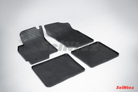 Резиновый коврик Seintex сетка для Mitsubishi LANCER IX 2003-2007